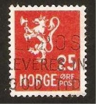 Stamps : Europe : Norway :  león heráldico