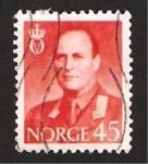 Sellos de Europa - Noruega -  Rey