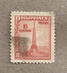 Stamps Philippines -  Monumento a Bonifacio