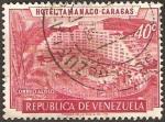 Stamps : America : Venezuela :  hotel tamanaco, en caracas