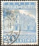 Stamps : America : Venezuela :  oficina principal de correos en caracas