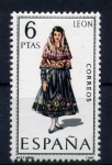 Stamps Spain -  trajes regionales