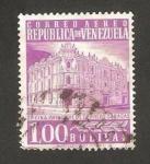 Stamps : America : Venezuela :  Oficina Principal de Correos, en Caracas