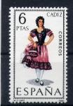 Sellos de Europa - España -  trajes regionales