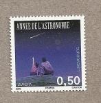 Sellos de Europa - Luxemburgo -  Año de la Astronomía