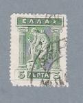 Sellos de Europa - Grecia -  Escultura