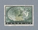 Stamps Europe - Greece -  Teatro Epidauro