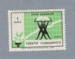 Sellos de Asia - Turquía -  Libros