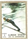 Stamps United Arab Emirates -  AJMAN - Deportes