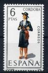 Stamps Spain -  serie- Trajes regionales