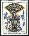 Stamps France -   Luna y toro