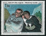 Stamps : Europe : France :  Honoré Daumier
