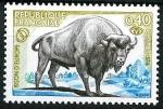 Stamps : Europe : France :   Bisonte de Europa