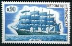 Stamps France -   Cinco mástiles