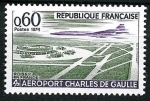 Stamps : Europe : France :   Aeropuerto Charles de Gaulle