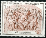 Stamps : Europe : France :  Escultura