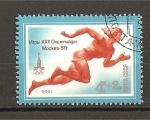Stamps Russia -  Juegos Olimpicos de Moscu (VIII)