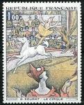 Stamps : Europe : France :   El Circo