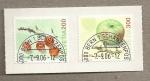 Stamps Switzerland -  Frutas