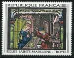 Stamps : Europe : France :   Iglesia Sainte-Madeleine