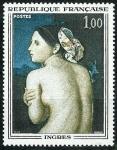 Stamps : Europe : France :  La bañera de Dominique