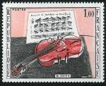 Stamps : Europe : France :   El violín rojo