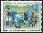 Stamps : Europe : France :  Las muy ricas horas del duque de Berry