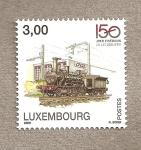 Sellos de Europa - Luxemburgo -  150  Aniv. ferrocarriles Luxemburgo