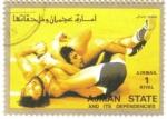 Sellos de Asia - Emiratos Árabes Unidos -  AJMAN - Deportes