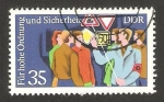 Stamps of the world : Germany :  educación viaria