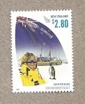 Sellos de Oceania - Nueva Zelanda -  Sir Peter Blake