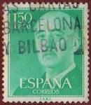 Stamps Spain -  FRANCO