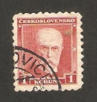 Stamps Czechoslovakia -  Presidente Masarky