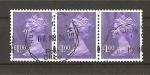 Stamps United Kingdom -  Isabel II.