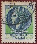 Sellos de Europa - Italia -  REPVBBLICA ITALIANA
