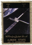 Stamps Asia - United Arab Emirates -  AJMAN - Espacial