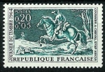 Stamps : Europe : France :  Correo a caballo