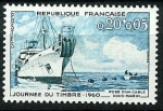 Stamps : Europe : France :  Navio Ampere