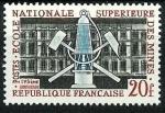 Stamps : Europe : France :  La escuela y  lámpara