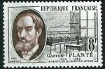 Stamps : Europe : France :   Gaston Planté