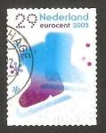 Sellos de Europa - Holanda -  navidad y año nuevo, patines