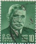 Sellos del Mundo : Asia : Sri_Lanka : Stephen Senanayake(1884-1952)
