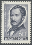 Stamps : Europe : Hungary :  1817  Tompa Mihaly  1868