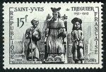 Stamps : Europe : France :  Santo Yves