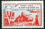 Stamps : Europe : France :  10º aniversario de la Liberación