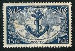 Stamps : Europe : France :  Cinquentenario de las tropas coloniales