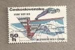 Sellos de Europa - Checoslovaquia -  Campeonatos internacionales de Ski en los montes Tatra