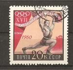Stamps Russia -  Juegos Olimpicos de Roma.