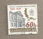 Sellos de Europa - Checoslovaquia -  Ayuntamiento de Kosice