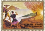 Stamps United Arab Emirates -  AJMAN - Espacial